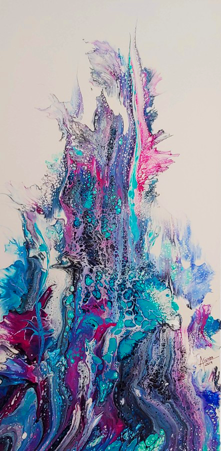 Happiness Blooming, 2019 (SOLD)